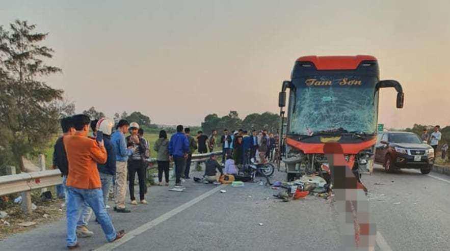 Tài xế quê Ninh Bình điều khiển xe trong tai nạn liên hoàn khiến một người tử vong tại chỗ